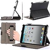 i-Blason Apple iPad Mini / iPad Mini 3 / iPad Mini with Retina Display Case Auto Wake / Sleep Smart Case with Bonus Stylus (Black)