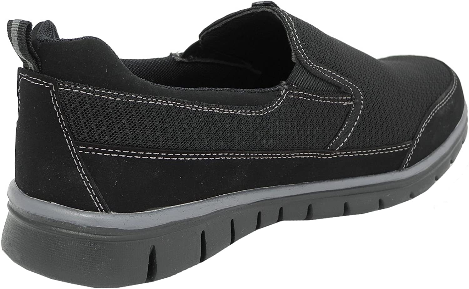 Mens Superlight Memory Foam Walking Gym Trainers Shoes With