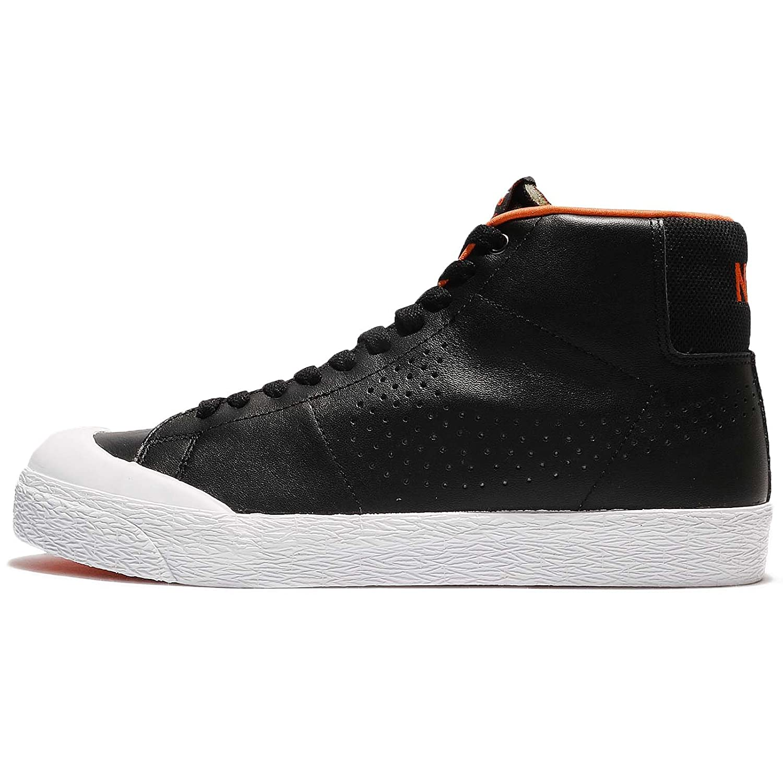 online retailer 768bf c0e50 Zapatillas de skate NIKE Blazer SB premium para hombre Negro   Metálico  Plateado-blanco