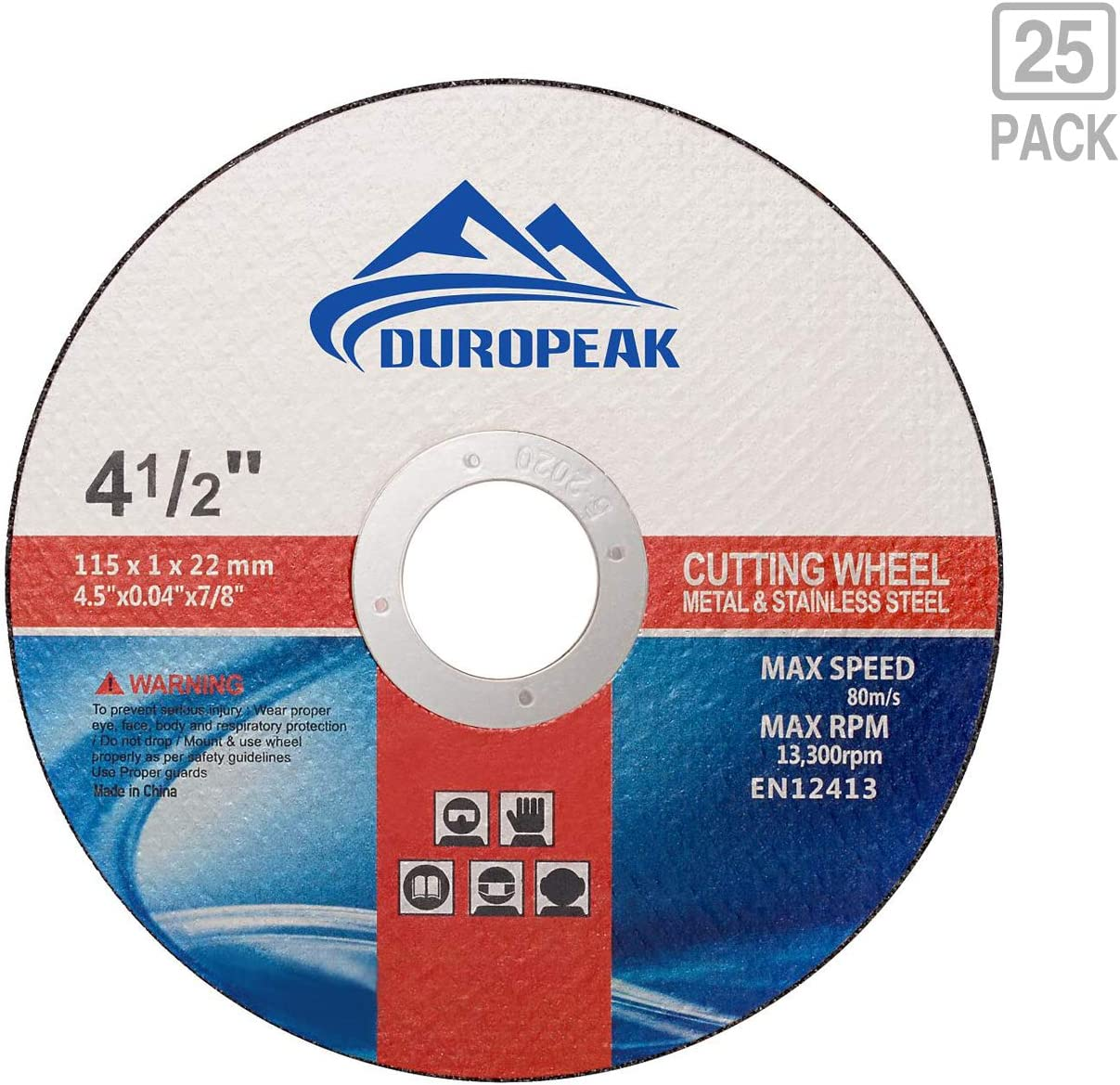 100% top quality hot sale online affordable price DUROPEAK 10Pack- 4.5