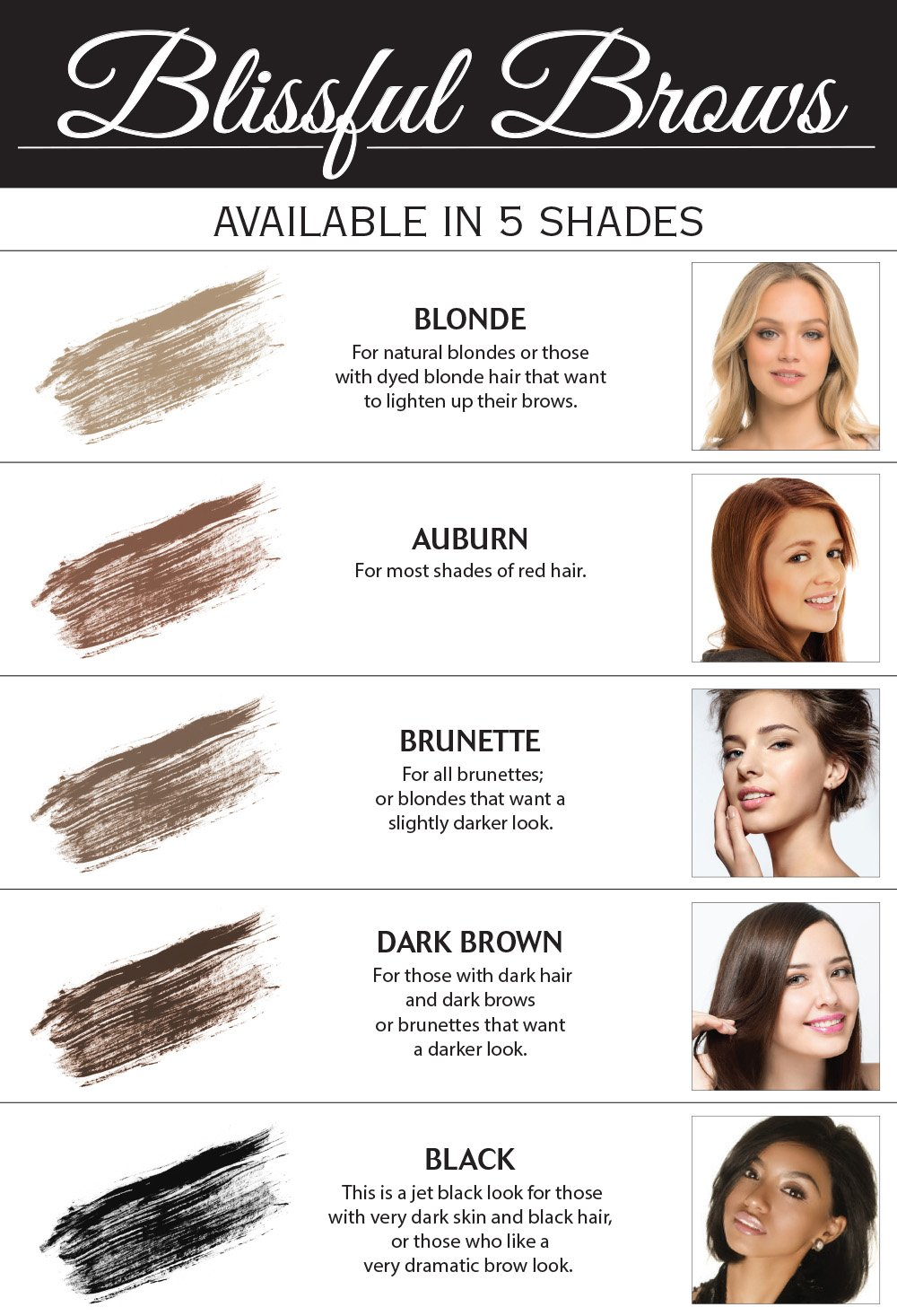 Amazon Blissful Brows By Hairgenics One Step Long Lasting