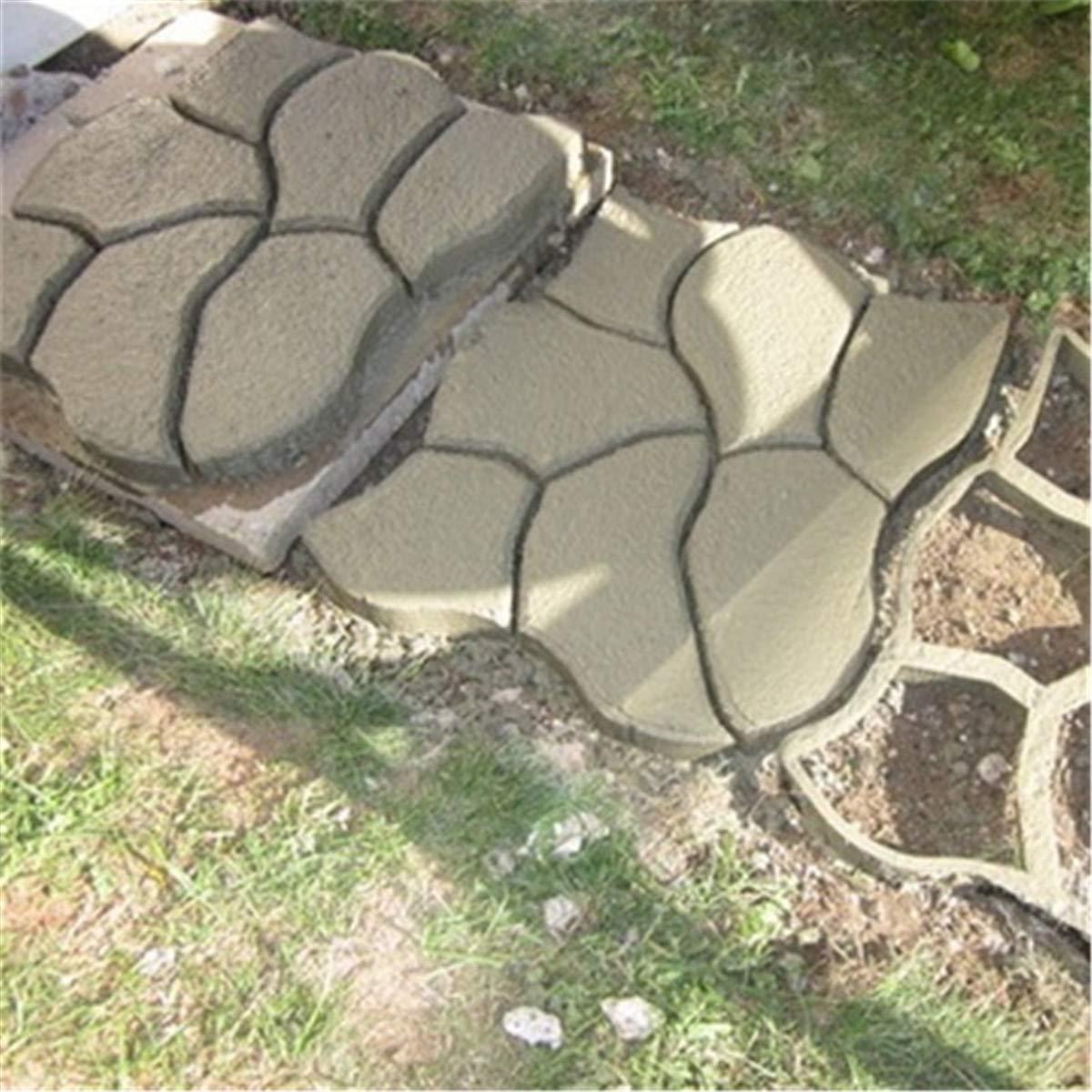 Bureze - Molde de plástico para Hacer senderos (60 x 50 cm): Amazon.es: Hogar