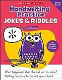Handwriting Practice: Jokes & Riddles