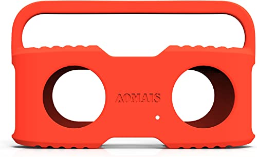 Bluetooth Speakers Sling Cover Compatible AOMAIS Sport II and Sport II Waterproof Portable Speakers Orange
