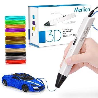 MerLion - Filamento para impresora 3D (1,75 mm, PLA, 24 colores ...