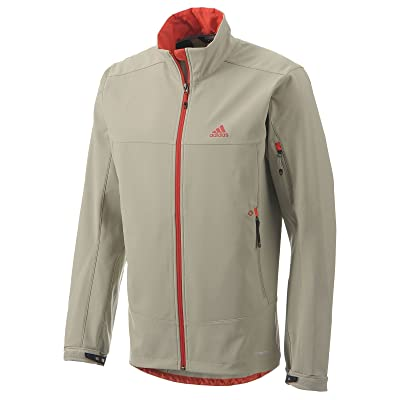adidas G82194-2Xl Men's Ht Softshell Jacket Tech Beige 2Xl