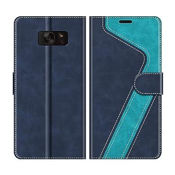 MOBESV Funda para Samsung Galaxy S7, Funda Libro Samsung S7, Funda Móvil Samsung Galaxy S7 Magnético Carcasa para Samsung Galaxy S7 Funda con Tapa, ...