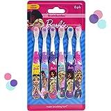 Barbie Soft Toothbrush 6pk