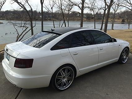 Audi A6 C6 Sedan 2004 2011 Rear Window Roof Spoiler 701142665859