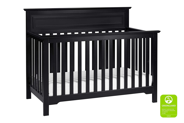 DaVinci Autumn 4-in-1 Convertible Crib in Ebony Greenguard Gold Certified