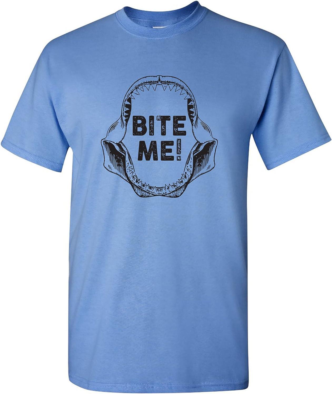 Bite Me - Shark Teeth Jawesome Ocean Funny T Shirt