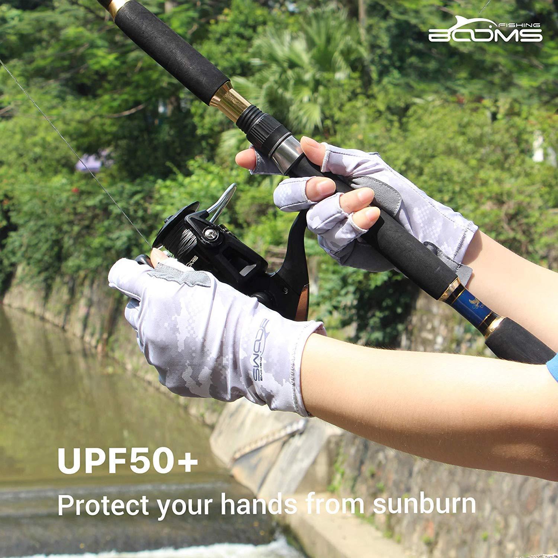 Gants Booms Fishing perches P/êche FG2/P/êche Gants sans Doigts Gants de p/êche UPF50/
