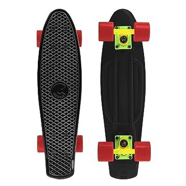 Cal 7 22 Inch Plastic Mini Cruiser Standard Complete Skateboard