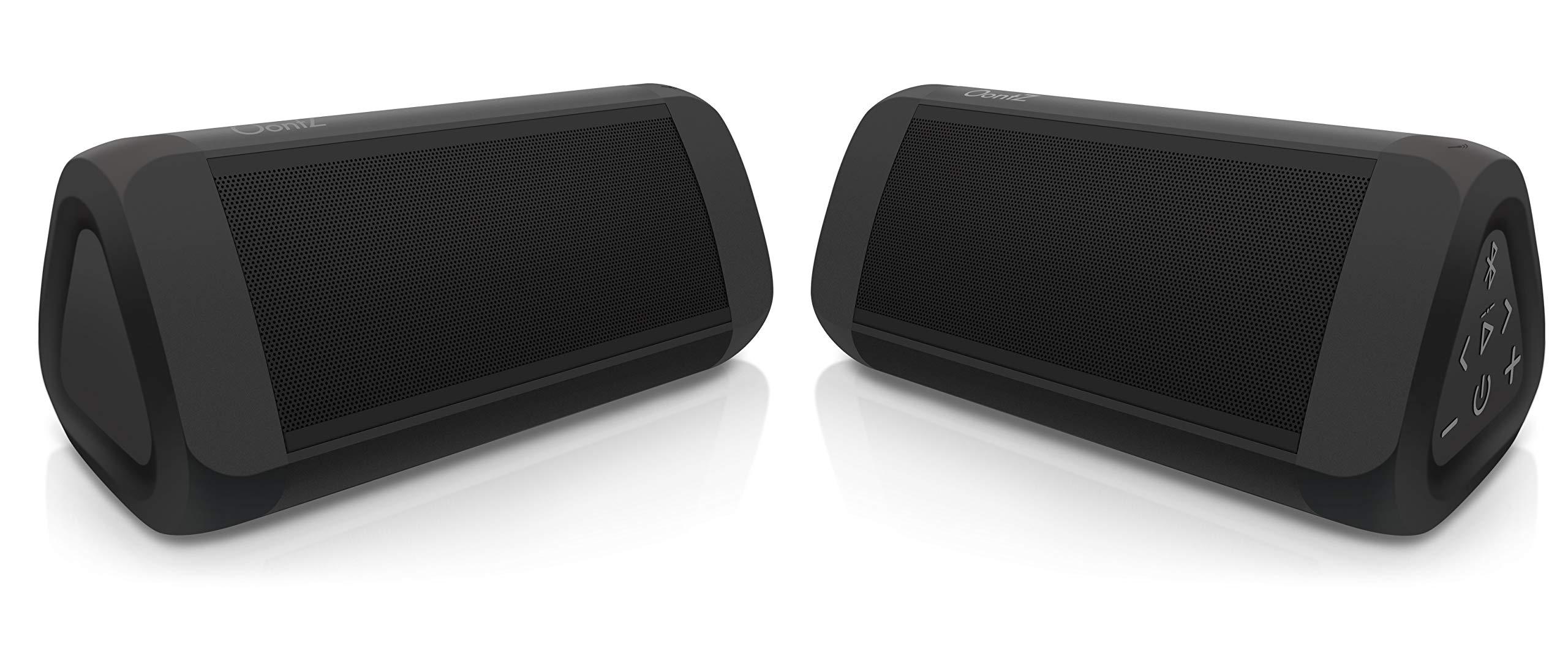 OontZ Angle 3 Ultra Portable Bluetooth Speaker, Two Speaker Edition, 14 Watts, Bigger Bass, Hi-Quality Sound, 100 Ft Wireless Range, IPX6, Bluetooth Speakers by Cambridge SoundWorks (Black) by Cambridge Soundworks