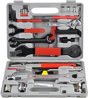 tinxs vélo main Craft Kit de réparation et d'entretien de boite de rangement Compact