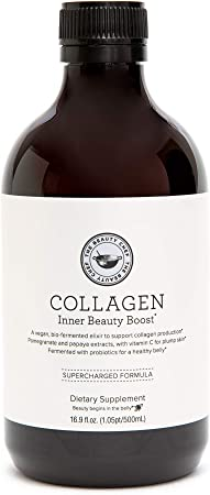 The Beauty Chef   Collagen Inner Beauty Boost (16.9oz, 500ml)   Liquid Collagen to Support Natural Collagen Production & Younger Looking Skin
