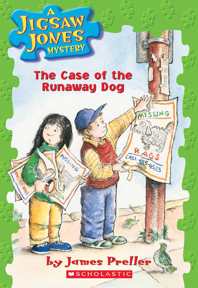 The Case of the Runaway Dog (Jigsaw Jones Mystery #7) by Scholastic