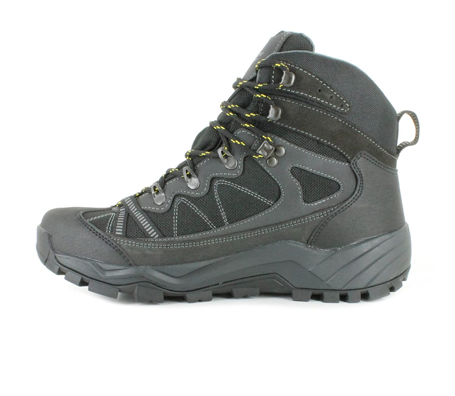 abbf6440210a Hi-Tec V-Lite Altitude Mens Other Leather Material Walking Boots  Charcoal Black - 7 UK  Amazon.co.uk  Shoes   Bags