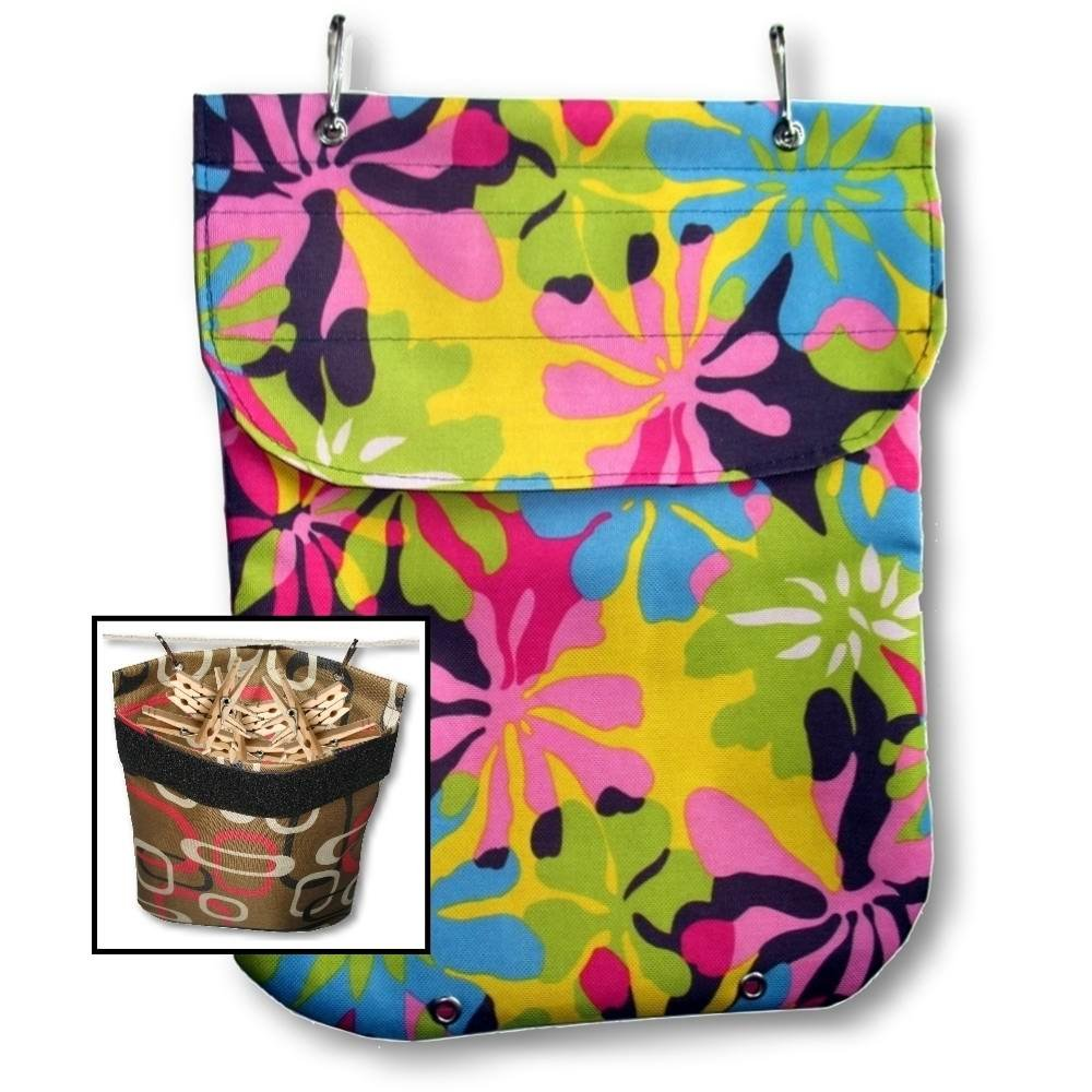 Waterproof XL Heavy-Duty Clothespin Holder Bag Made in USA ClarUSA COMINHKR084937