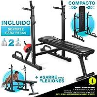 Sportstech 21en1 Banco de Pesas Innovador con Soporte