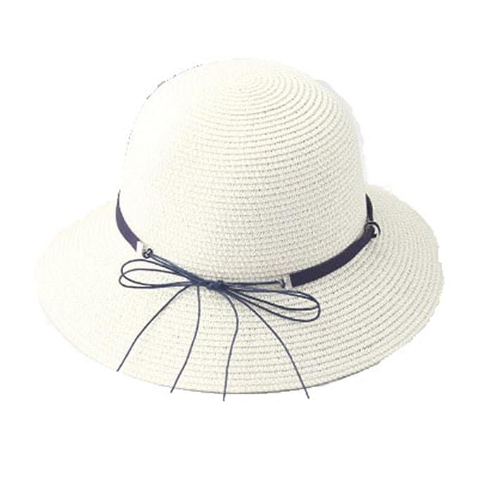 68513bad1794bd Eric Hug hat Sun Visor Hats Adult Casual Straw Hat Girl Woman Cap Summer  Tassel Hat