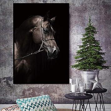 Horse Landscape Impression Poster Print