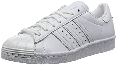 best website 575ce afc15 Adidas Sneaker Women Superstar 80S Metal Toe S76540 Weiß, Schuhgröße 36