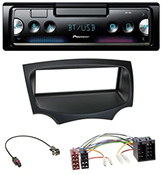 Pioneer SPH-10BT Bluetooth Autoradio USB AUX MP3 FLAC AAC WAV Einbauset f/ür Ford KA RU8