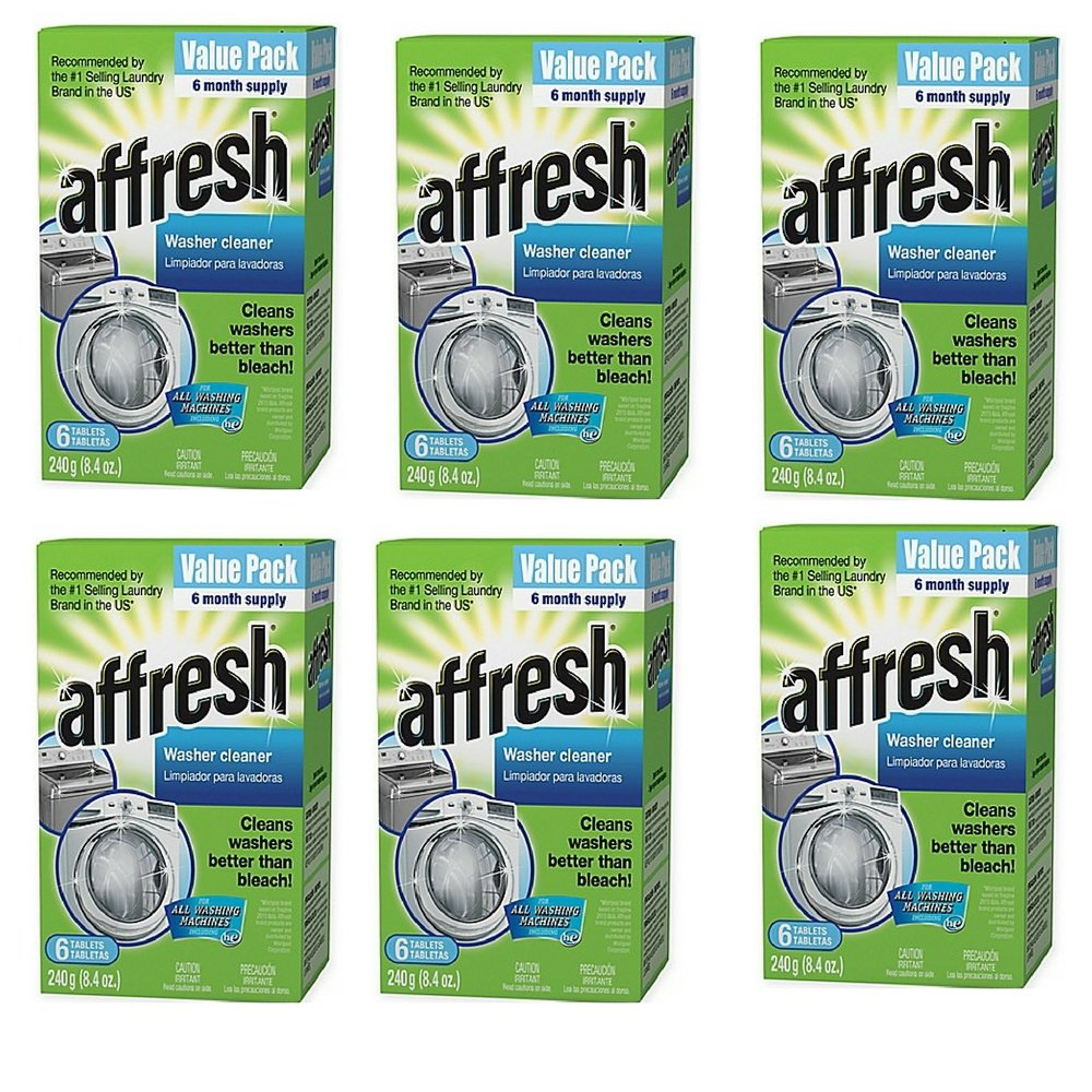 Affresh Value 6-Pack Washer Cleaner Tablets, Stays Clean and Functioning (1) (6 pack)