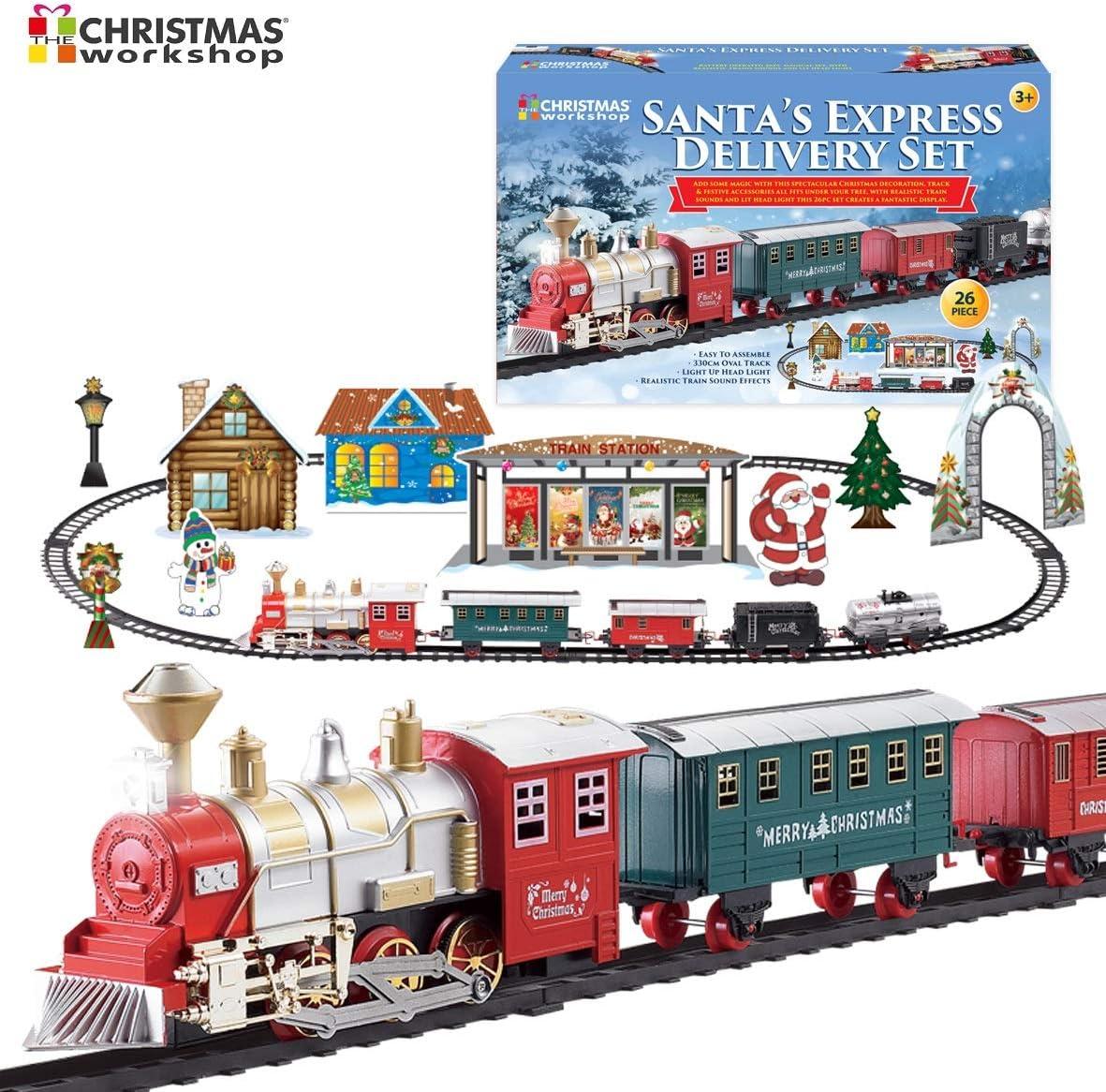 The Christmas Workshop 81020 Deluxe - Bandeja de Papá Noel, varios colores , color/modelo surtido