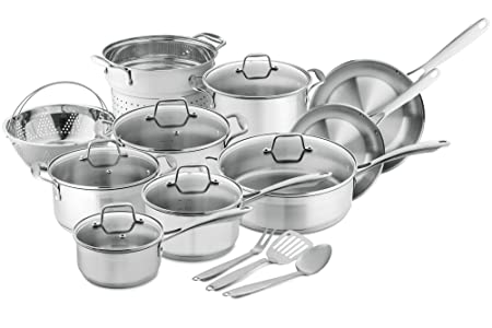 Review Chef's Star 17-Piece Pots