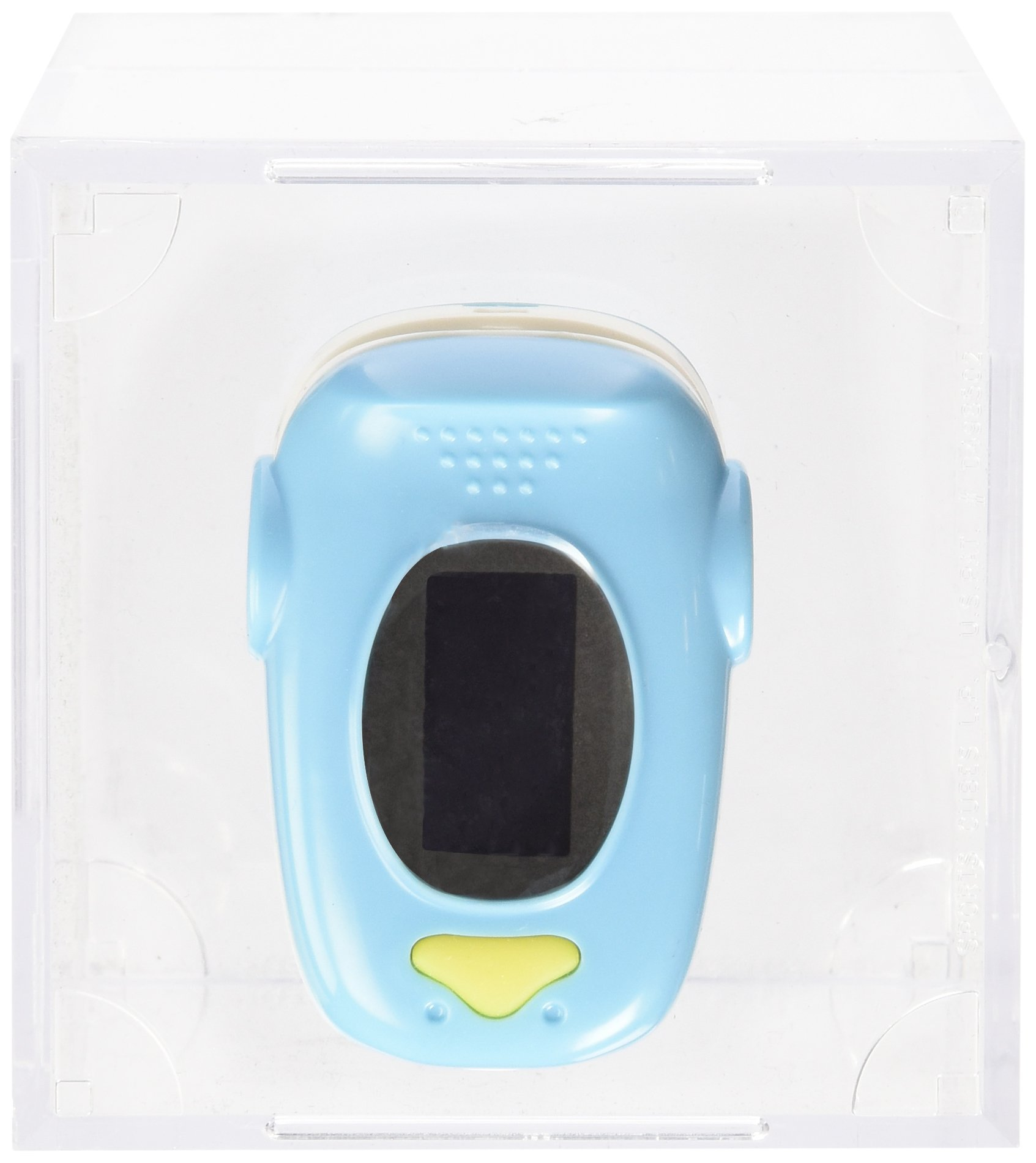 EMS70A Finger Pulse Oximeter with Carry Case and Neck/wrist Cord (BLUE)