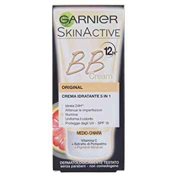 Garnier BB Cream Original Crema viso idratante 5in1 con Vitamina C