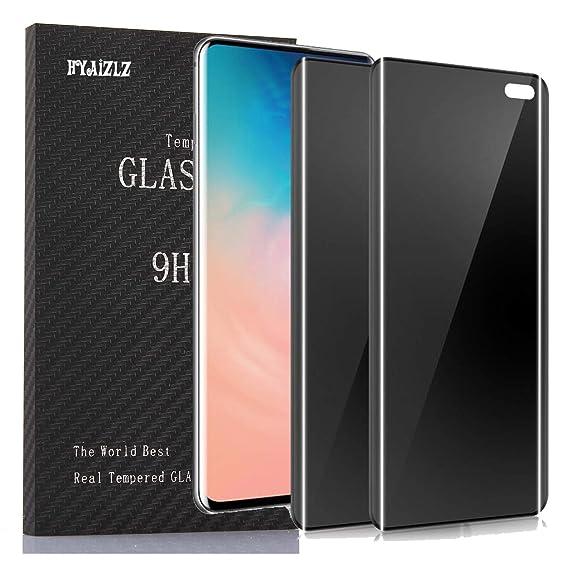Amazon com: Galaxy S10 5G Privacy Screen Protector,HYAIZLZ