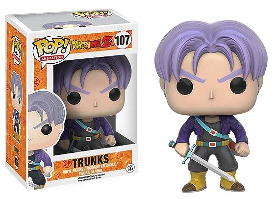 Amazon Com Funko Pop Anime Dragonball Z Trunks Action Figure