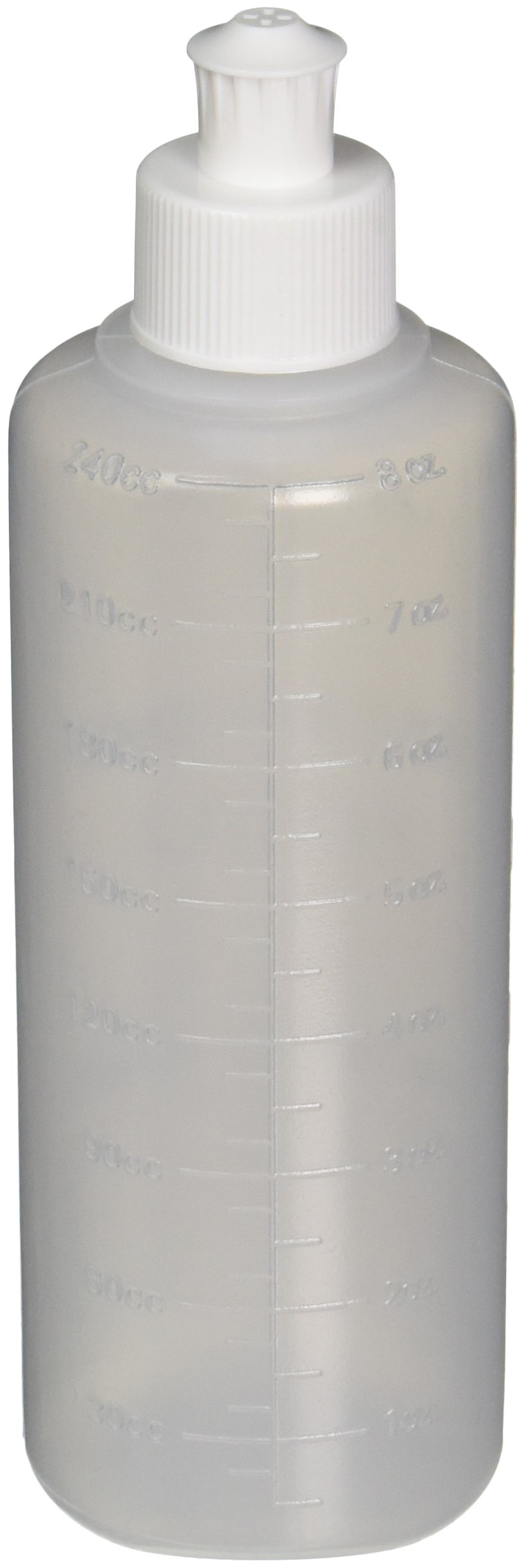 Medline DYND70125 Perineal Irrigation Bottle with Lid, Lavette, Latex Free, 8 Ounces Capacity (Pack of 50) by Medline