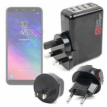 DURAGADGET Kit De Adaptadores con Cargador para Smartphone Samsung ...
