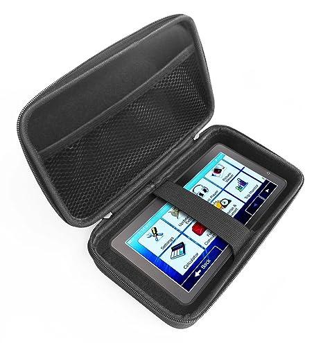 FitSand - Funda rígida para navegador GPS Tvird para coche, con cremallera de transporte EVA