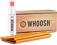 WHOOSH! Screen Cleaner Kit – Best for– Smartphones, iPads, Eyeglasses, Kindle, LED, LCD & TVs – Includes 1 Oz Bottle + 2 Prem