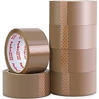 Packatape | pakketplakband bruin | 66m lang & 48mm breed | Ideaal als plakband, pakketband, verpakkingsmateriaal & tape…