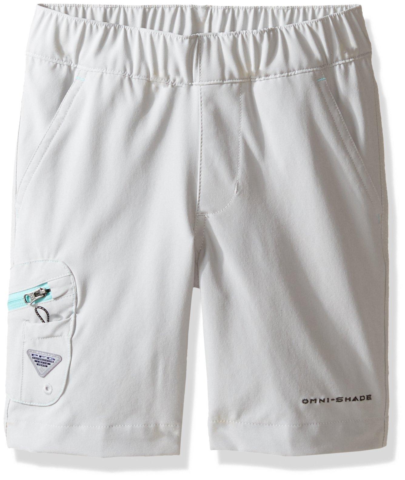 Columbia Men's Terminal Tackle Shorts (Little Big Kids), Cool Grey, Gulf Stream, Small