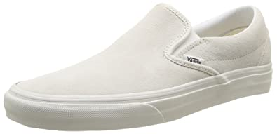 Vans Unisex-Erwachsene Classic Slip-On Low-Top, Weiß (True White W00), 50 EU