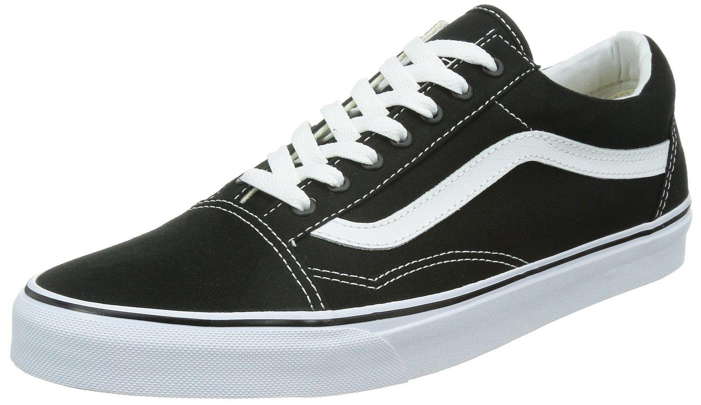 Vans Old Skool Black/White VN000D3HY28 Mens 6.5, Womens 8