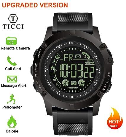 Amazon.com: T0003 - Reloj inteligente deportivo digital con ...