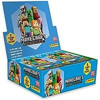 Panini Minecraft Trading Cards Box met 18 zakken met elk 8 kaarten om te verzamelen en te ruilen