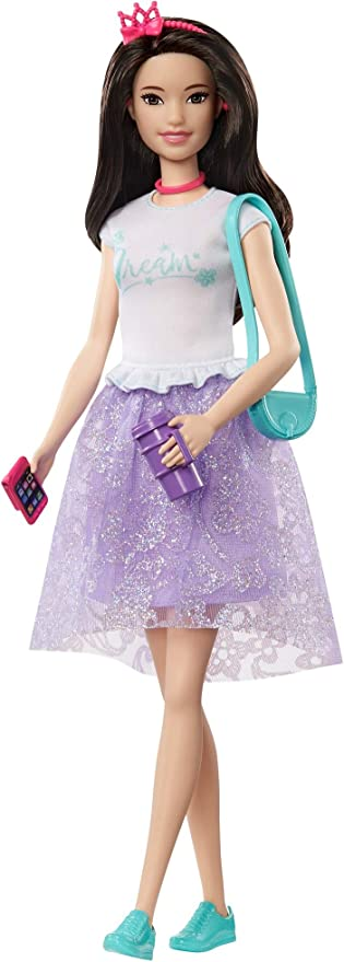 red white and blue  Purse for 10 to 12 inch fashion dolls