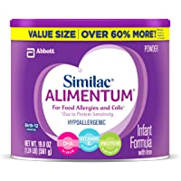 4 Ct of 19.8oz Similac Alimentum Hypoallergenic Infant Formula