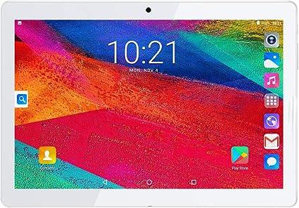 """Image of Dispositivo Android Quad Core con 16 GB de memoria 1 GB de RAM con cámara dual (2MP y 5MP) y ranuras SIM dobles WiFi (3G) Bluetooth 4.0 Función del teléfono GPS 10.1 """" 1 GB / 16 GB 2M / 5M Oro"""