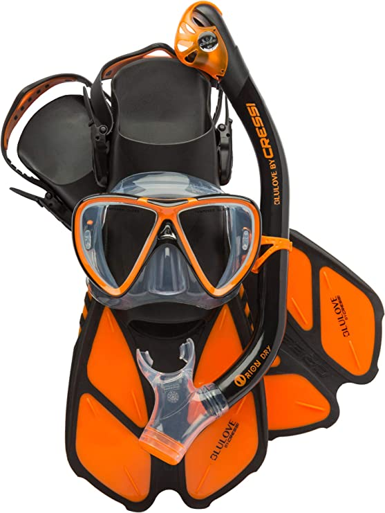 Cressi Fast Drying Orange Serviette de Sport en Microfibre Premium 160 x 180 cm