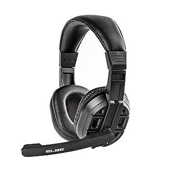 Elbe AU-629-PC - Auriculares de diadema con micrófono incorporado ...